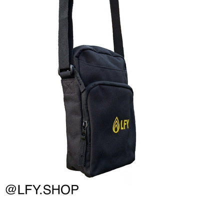 LFY Baller Man Bag (Yellow Logo), side of the bag being shown