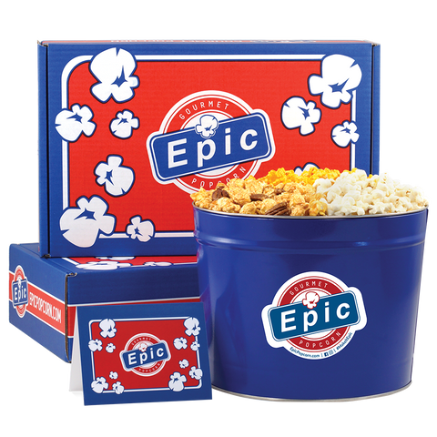 Corporate Gifting Popcorn Tin and Boxes