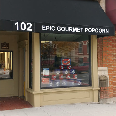 Epic Gourmet Popcorn Crown Point Indiana Store Front