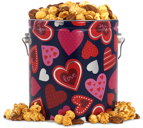 Epic Gourmet Popcorn Hearts Valentine's Day Tin