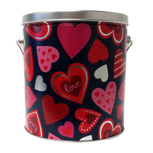 Load image into Gallery viewer, Epic Gourmet Popcorn Hearts 1-Gallon Tin