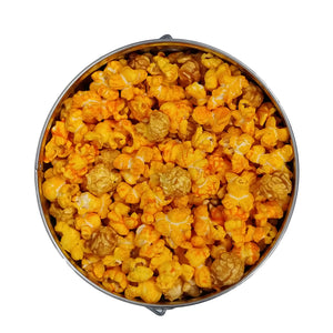 1 gallon tin of popcorn