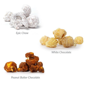 Epic Gourmet Chocolate Popcorn Flavors