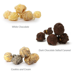 Epic Gourmet Chocolate Covered Popcorn Flavors