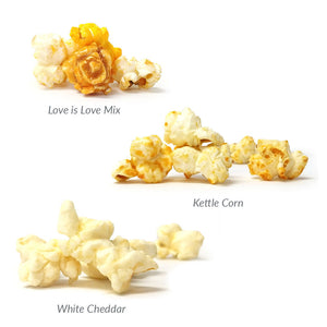 Bridesmaid Popcorn Box Flavors