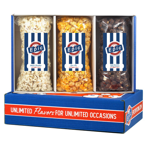 Thank You Popcorn Box Personalized Gift Set