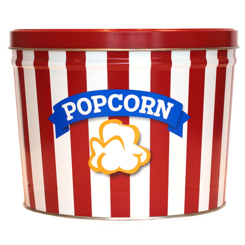 2 Gallon Epic Popcorn Tin