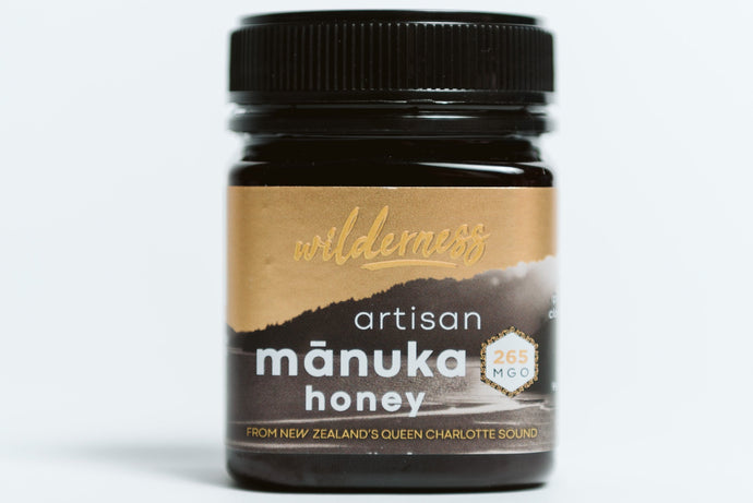 Wilderness MGO 260+ New Zealand Manuka Honey