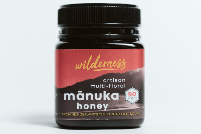 Wilderness MGO 90+ New Zealand Manuka Honey