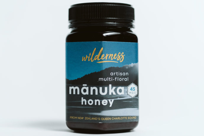 Wilderness MGO 45+ New Zealand Manuka Honey