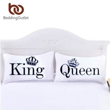 Load image into Gallery viewer, BeddingOutlet Queen King Pillowcase Decorative Body Pillow Case Plain Design Qualified Bedclothes 20inchx30inch Bedding Valentin