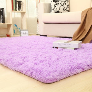 9 Colors Solid Rugs Pink Puple Carpet Thicker Bathroom Non-slip Mat Area rug for living room Soft Child Bedroom Mat Vloerkleed
