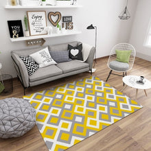 Load image into Gallery viewer, Nordic Style Geometric Marble Pattern Carpet Living Room Rug Sofa Coffee Table Mat Bedroom Yoga Pad Rectangular Bedside Blanket