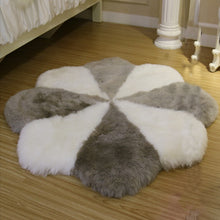 Load image into Gallery viewer, Super Soft Lauxury Natural Sheepskin Rugs Quincunx Bed Real Sheepskin Rug Sheepskin Cushion Fur Rug For Bedroom Floor Fur Mat