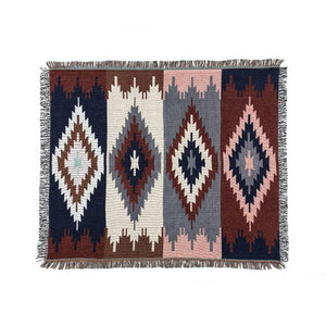 Kilim 100% India Cotton Bohemian Carpet For Living Room Bedroom bedside Wilton Rug Geometric Modern Mat With Nordic style