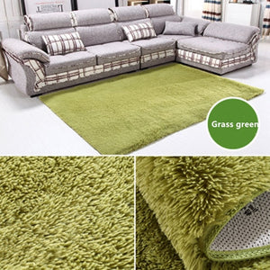 Home Supplies Rugs Large Size Plush Shaggy Thicken Soft Carpet Bedroom Floor Mat Carpets For Living Room Big Area Rug140*200cm