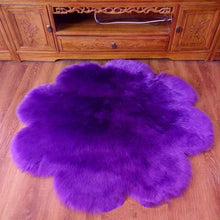 Load image into Gallery viewer, Fluffy Round Rug Carpets for Living Room Decor Faux Fur Carpet Kids Room Long Plush Rugs for Bedroom Shaggy Area Rug Modern Mat