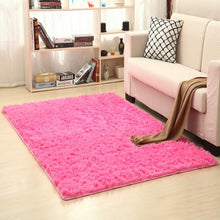 Load image into Gallery viewer, 9 Colors Solid Rugs Pink Puple Carpet Thicker Bathroom Non-slip Mat Area rug for living room Soft Child Bedroom Mat Vloerkleed