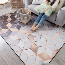 Load image into Gallery viewer, New Modern Soft Carpets For Living Room Bedroom Rugs Metal Style Area Rug Home Carpet Floor Door Mat Decoartive tapete parlor