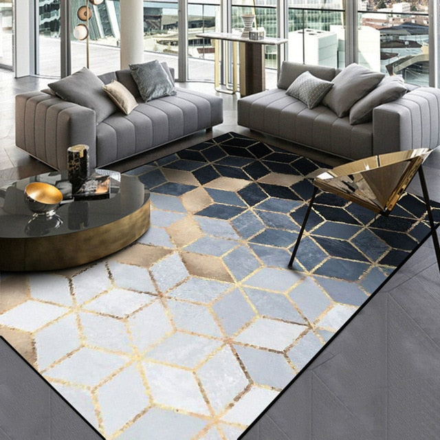 New Modern Soft Carpets For Living Room Bedroom Rugs Metal Style Area Rug Home Carpet Floor Door Mat Decoartive tapete parlor