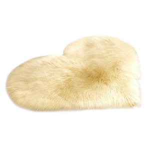 New Fashion Wool Imitation Sheepskin Rugs Faux Fur Non Slip Bedroom Shaggy Carpet Living Room Mats Round Rug Hot Faux Fur Rug