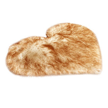 Load image into Gallery viewer, New Fashion Wool Imitation Sheepskin Rugs Faux Fur Non Slip Bedroom Shaggy Carpet Living Room Mats Round Rug Hot Faux Fur Rug