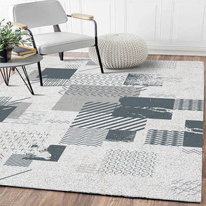 Abstract Art Colorful Lattice Carpet For Living Room Bedroom Anti-slip Floor Mat Fashion Kitchen Carpet Area Rugs