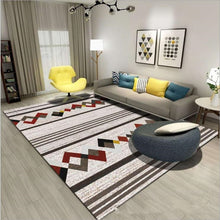 Load image into Gallery viewer, Nordic style Carpets For Living Room Bedroom Sofa coffee table Study bedside Carpet Model Showcase Rugs 3D Printed Household Rug