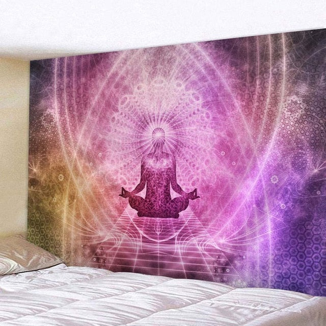 Vintage Psychedelic New Arrival Bohemian Wall Hanging Decor 200x150cm Home Furnishing Polyester