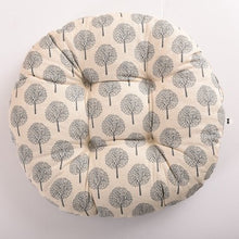 Load image into Gallery viewer, 48*48cm/38*38cm Bohemian Round Home Sofa Car Chair Seat Cushion Decorative Pillows Animal Plaid Floor Tatami Pad Christmas Gift