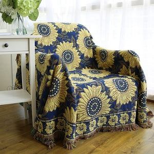2019 New Bohemian Cotton Throw Blanket Sofa Couch Cover Towel Thread Blanket Decorative Slipcover Travel Plaids Bedding Cover