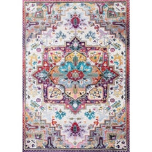 Load image into Gallery viewer, Bohemian Retro national wind soft area rug living room bedroom kitchen corridor floor carpet full   of home decoration kids mats