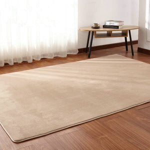 Living room coffee table mat plush bedroom full bedside blanket rectangular simple modern rug High-end Thick coral fleece carpet