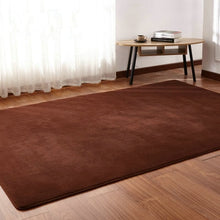 Load image into Gallery viewer, Living room coffee table mat plush bedroom full bedside blanket rectangular simple modern rug High-end Thick coral fleece carpet