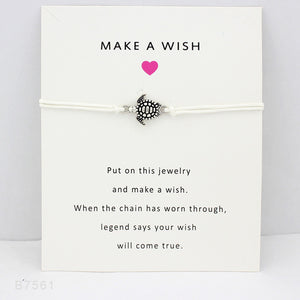 Make A Wish Sea Turtle Bracelet (Great Gift Idea For A Friend!)