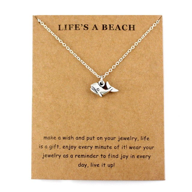"""Life's a Beach"" Necklace"