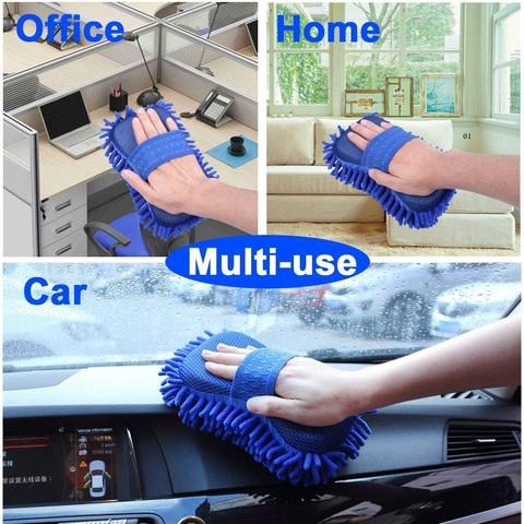 Multi-Use Cleaning Sponge Gloves Brush