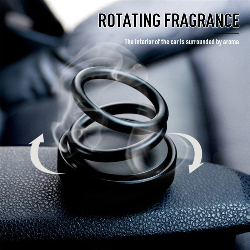 Magnetic Double Ring Aromatherapy Diffuser