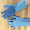 Silicone Scrubber Rubber Cleaning Gloves
