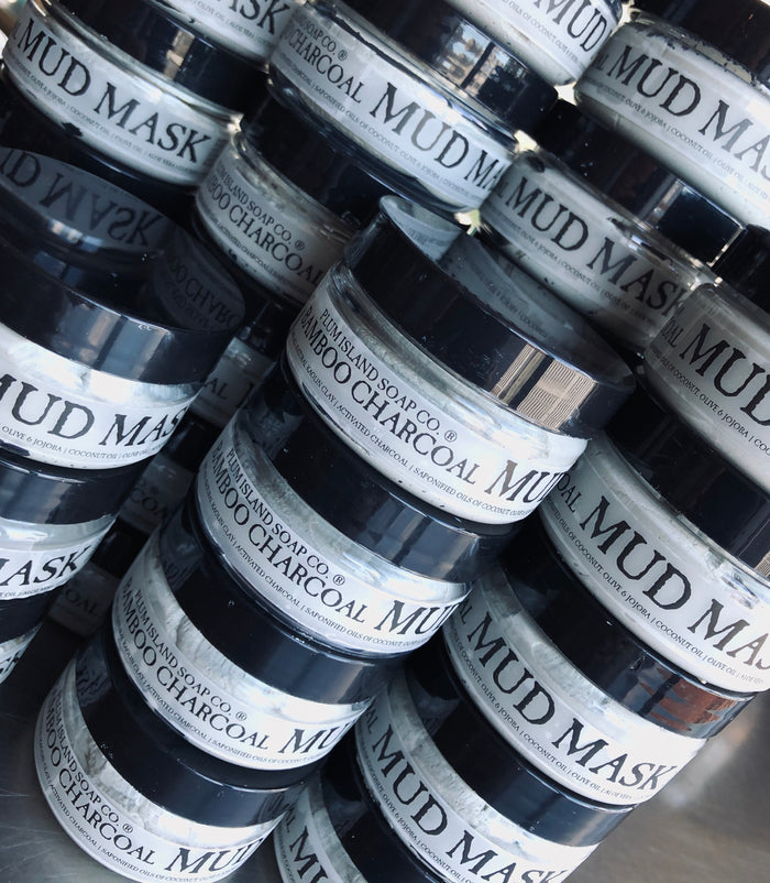 Bamboo Charcoal Mud Mask