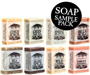 Soap Sampler 8 Bar Bundle