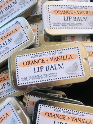 Orange Vanilla Lip Balm