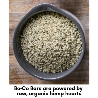 The Bo•Co Bar Mint Cacao Hemp Heart Meal Bar (Box of 12)