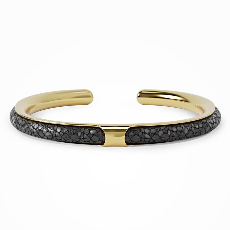 Apollo | Black Stingray Bracelet