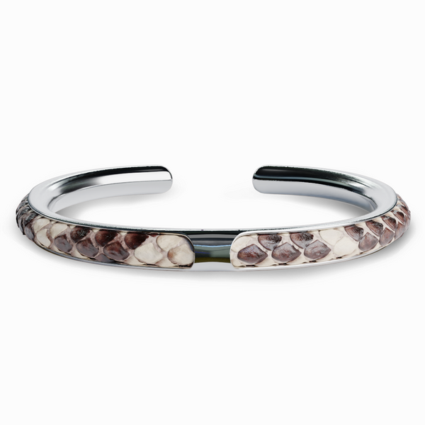 Apollo | Bracelet Python Naturel