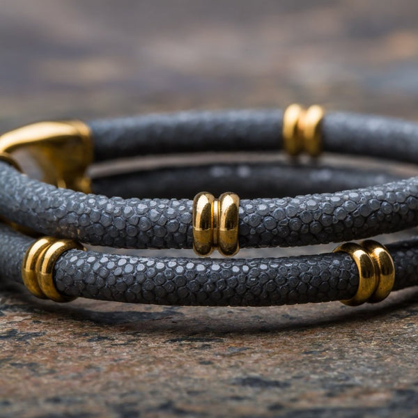Shaman | Grey Stingray Bracelet