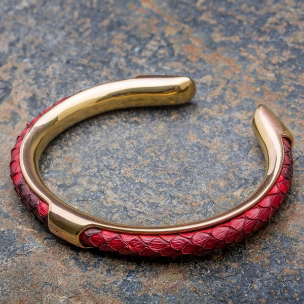 Apollo | Red Python Bracelet