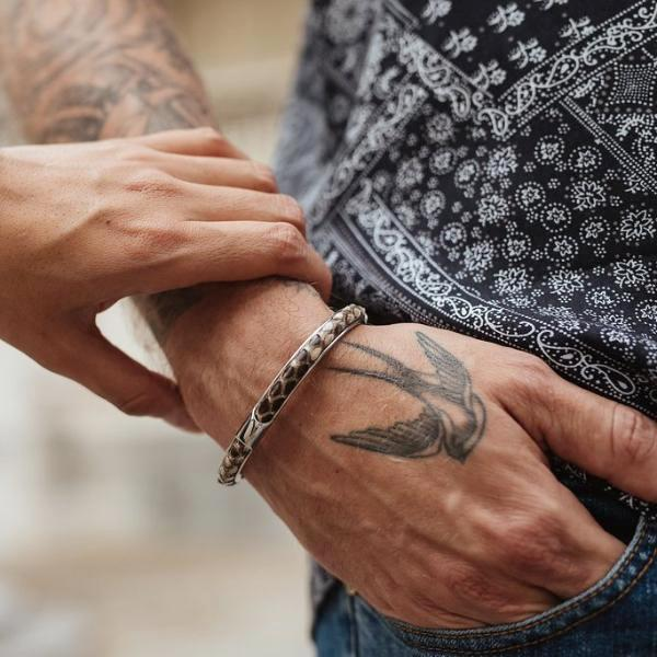 Apollo | Natural Python Bracelet