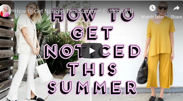 """How to Get Noticed This Summer! Fashion & Beauty Tips"" video on my Lindsay's Latest channel!"