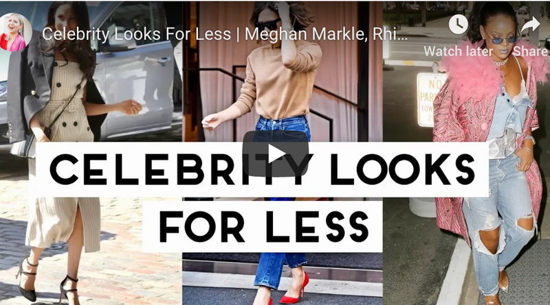 """Celebrity Looks For Less 